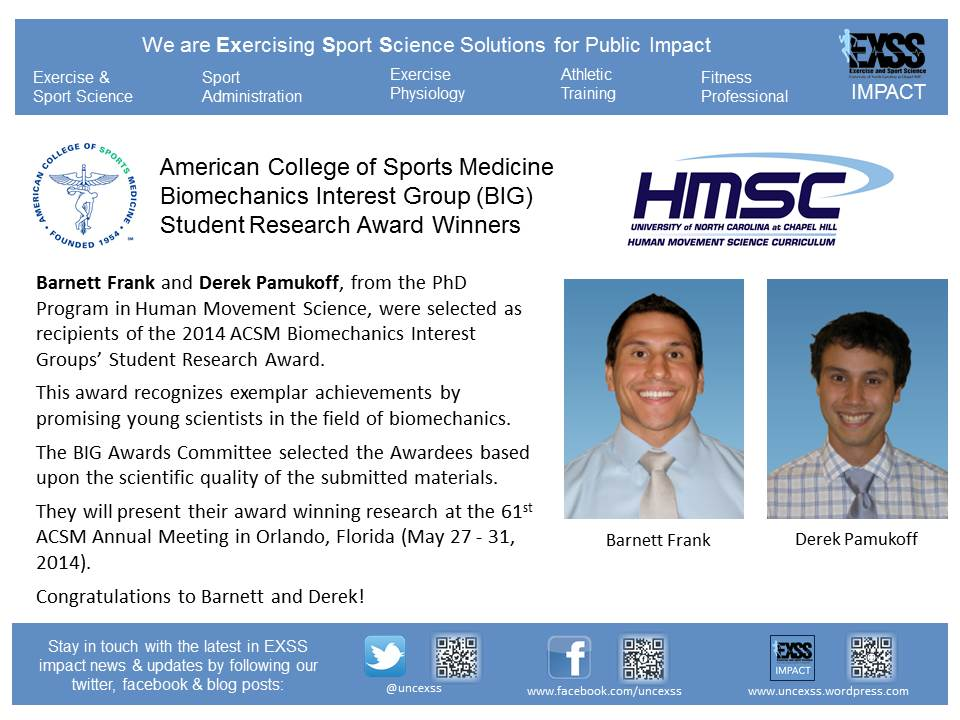 Barnett and Derek - BIG Award Announcement