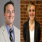 Dr. Brian Pietrosimone and Brittney Luc Receive Clint Thompson Award for Clinical Achievement